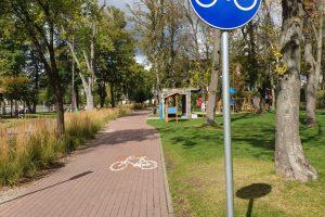 Bicycle infrastructure –  ul. Grunwaldzka