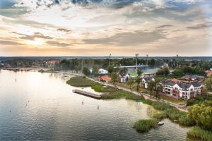 Development of green areas taking into account natural and climate changes in the city of Ostróda