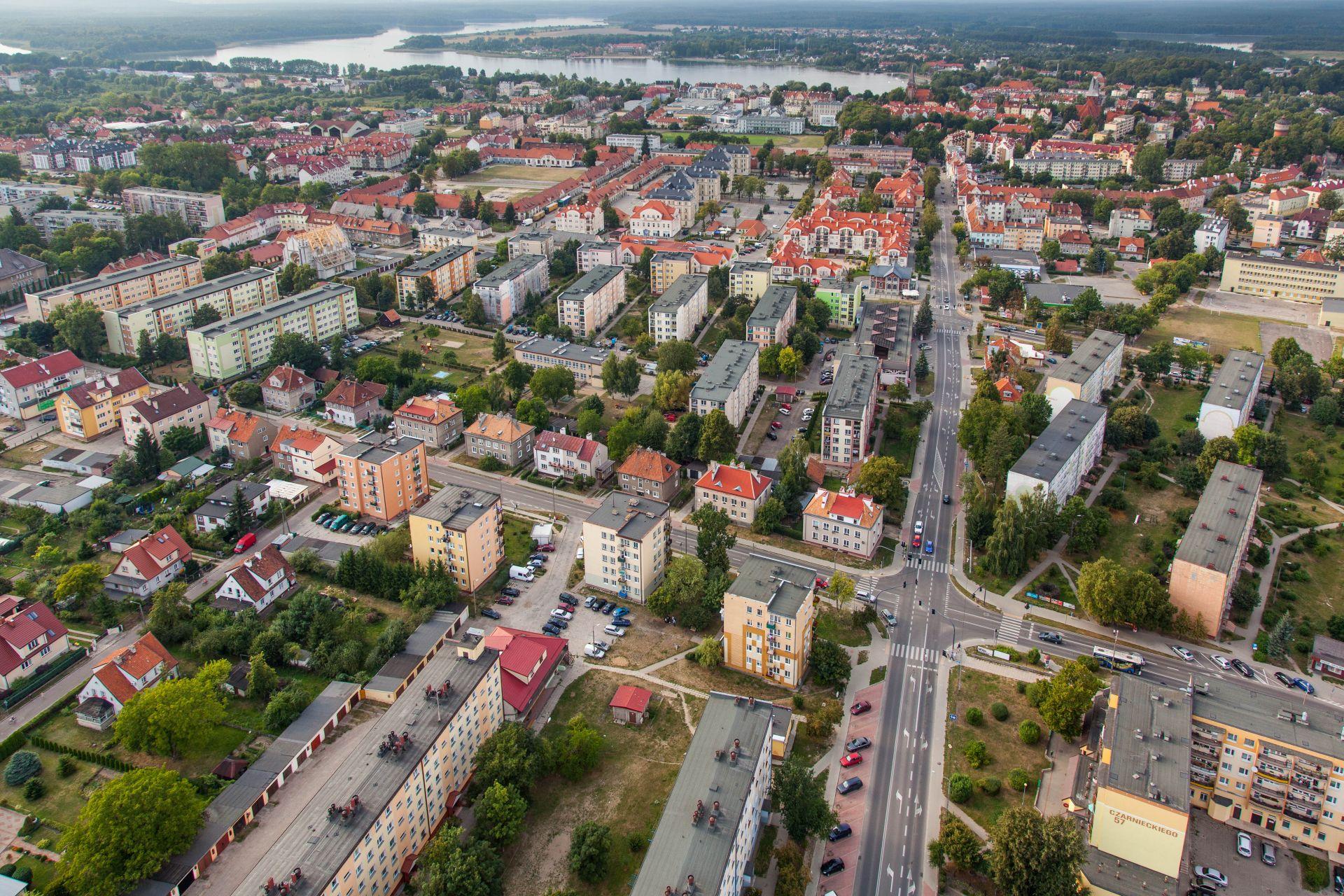 Sustainable urban transport in Ostróda