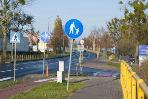 Infrastruktura rowerowa – ul. Grunwaldzka