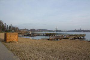 Podniesienie jakości przybrzeżnej infrastruktury rekreacyjnej w Ostródzie – plaża miejska jez. Drwęckie